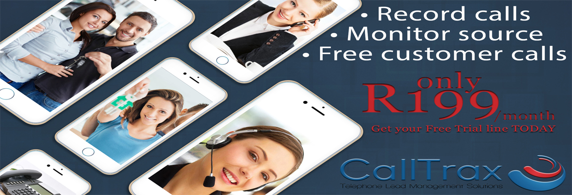 CallTrax Free Customer Calls R199/Month